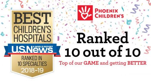 US News and World Report - Best Childrens Hospitals